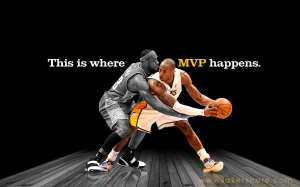 Kobe and Lebron MVP