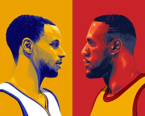 curry and lebron