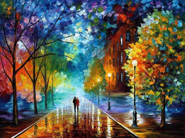 dope rainbow artwork